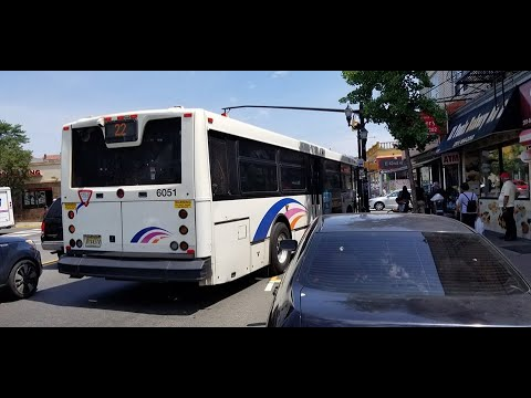 NJ Transit 22 (6051) North Bergen