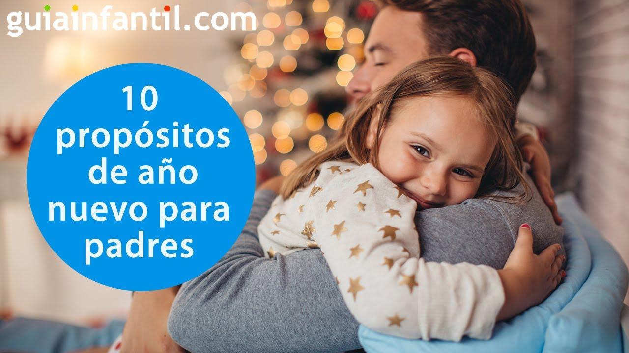 10 Propósitos de año nuevo para padres