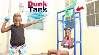 Splash Dunk Tank Challenge