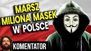 Acta 2 WCALE NIE ZOSTAŁO POWSTRZYMANE – Rusza Marsz Miliona Masek w Polsce – Analiza Komentator PIS