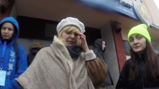 Женщина, освобождённая из Московского РУВД