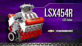 LSX 454R   Chevy Performance's Most Powerful Crate Engine   Race Ready and Radic
