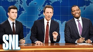 Weekend Update: Really!?! with Seth Meyers, Colin Jost and Michael Che - SNL