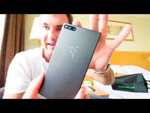 120HZ és 8GB RAM?! Tessék?! | Razer Phone Kicsomagoló videó letöltés
