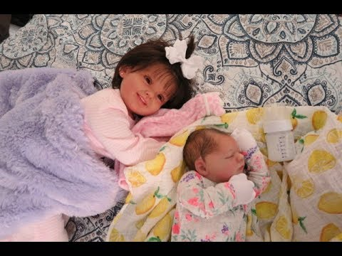 Reborn Doll Baby And Toddler Night Routine! Traditional Style Reborn Doll Roleplay
