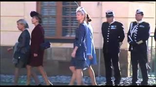 De  Klädde Sig Snyggast På Prins Nicolas Dop