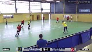 preview picture of video '⚽ PARIS R.F. vs BRUXELLES R.F. (Championnat Rollersoccer Zone Nord 2014-2015) • Match Aller'