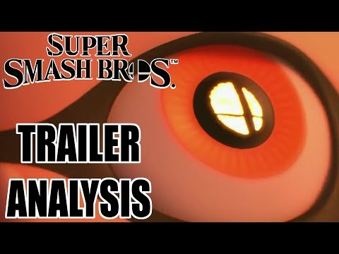 Smash 5 Trailer ANALYSIS (It's Not A Port, Inklings Analysis, & Character Silhouettes)