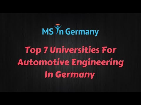 mp4 Automotive University In Germany, download Automotive University In Germany video klip Automotive University In Germany