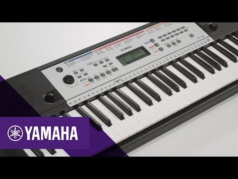 teclado musical yamaha ypt 260 61 teclas c fonte e. Black Bedroom Furniture Sets. Home Design Ideas