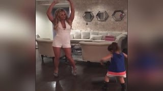 Watch Britney Spears Dance to 'Vogue' with Her 5-Year-Old Niece