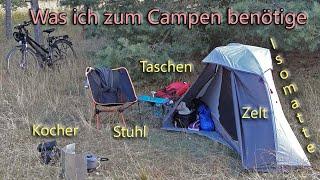 Mein Zelt, meine Matte, mein Topf - was ich alles beim Camping benötige