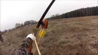 Смотреть онлайн Охота с традиционным и блочным луком