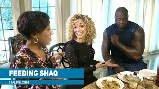 What it takes to feed NBA giant Shaq