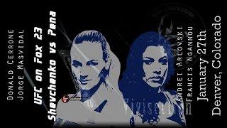 The MMA Vivisection - UFC on FOX 23: Shevchenko vs. Pena picks, odds, & analysis