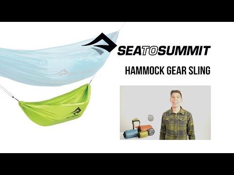 Sea to Summit Lightweight Hammock Gear Sling Instruction Video