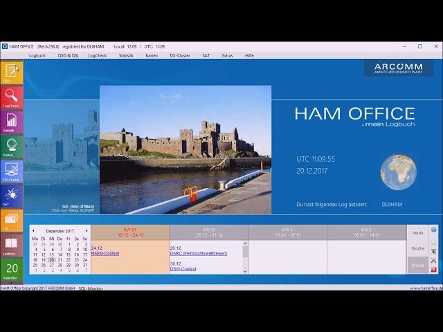 Youtube-Startbild zu HAM OFFICE Tipps: Schalteranzeige im QSO-Eingabefenster von HAM OFFICE .mein Logbuch
