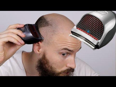 BALDING HAIRCUT BUZZ CUT -  Remington Quick Cut Review