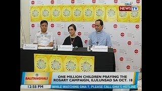 BT: One million children praying the rosary campaign, ilulunsad sa Oct. 18