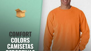 Comfort Colors 2018 Mejores Ventas: Comfort Colors Ringspun Garment-Dyed Long-Sleeve T-Shirt
