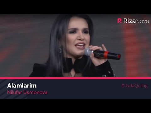 Nilufar Usmonova - Alamlarim | Нилуфар Усмонова - Аламларим (Albom taqdimotidan 2020) #UydaQoling