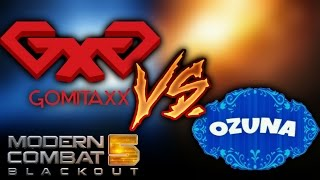 GOMITA GAMING vs OZUNA GAMEPLAYS _ Modern Combat 5