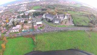 preview picture of video 'Flying Bracknell By Paramotor'
