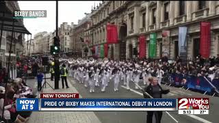 Pride of Bixby makes international debut in London
