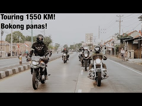 Motoran Jakarta - Bali [Roadtrip Day 1, sampe Solo]