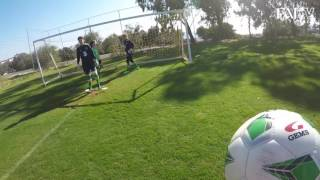Republic of Ireland GK session GoPro