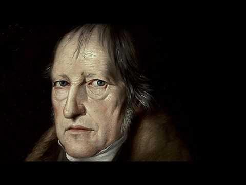 Vidéo de Georg Wilhelm Friedrich Hegel