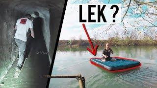 Gaan wij dit HALEN? | Met een bootje naar een verlaten fort! 2.0