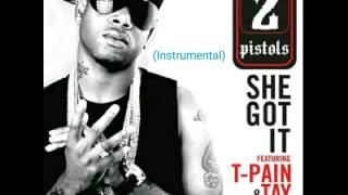 (Instrumental) She Got It - 2 Pistols ft. T-Pain, Tay Dizm (Instrumental)