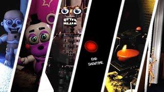 TODOS LOS EASTER EGGS Y SECRETOS   FNaF VR: Help Wanted - GG Games