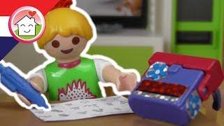 Playmobil filmpjes nederlands Huiswerk maken - Familie Huizer