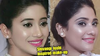 Shivangi joshi Inspired makeup || soft and glowy makeup || shystyles