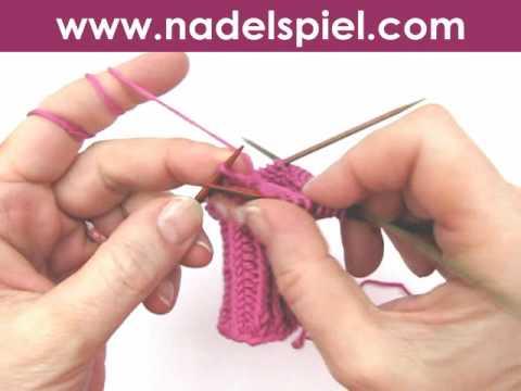 Handschuhe stricken * Teil 1 * Daumenkeil für Fäustlinge, Handschuhe, Handstulpen, Pulswärmer