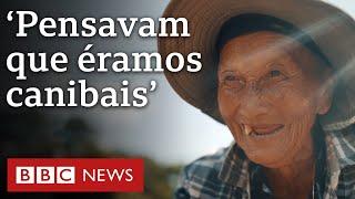 Am Tag der Hmong Zufluchtsorte aus Laos, die Guayana Francesa ernähren