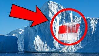 Топ 10 Загадочных Вещей, Найденных Вмёрзшими во Льды Антарктики