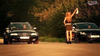 preview picture of video 'Audi TT RS vs Audi RS4 Avant - DRAGRACE | RK-Tuning.at'