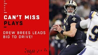 Drew Brees Finds Garrett Griffin for 1st TD of the Game!