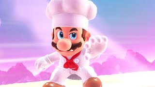 Super Mario Odyssey Walkthrough Part 9 - Chef Mario is Cookin' up Trouble (Luncheon Kingdom)