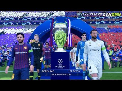 FIFA 19   FC Barcelona vs Real Madrid   UEFA Champions League Final   1080p HD