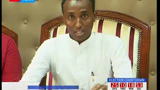 Garissa governor Ali Korane cracks his whip on illegally employed County workers