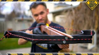PVC Crossbow X-Bow Trigger Mechanism (Pt. 2/2)