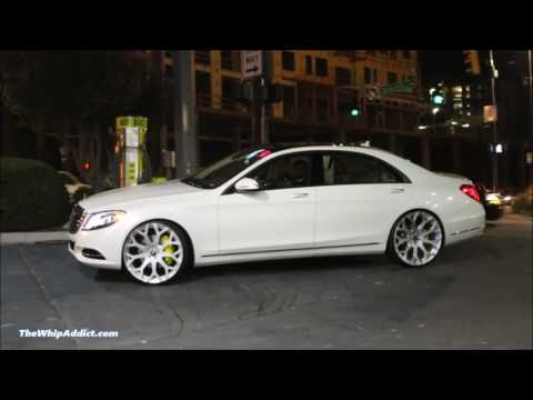 WhipAddict: Diamond White 2015 Mercedes Benz S550 on brushed Forgiato Drea Monoblock 24s