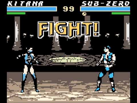 mortal kombat 4 game boy color rom