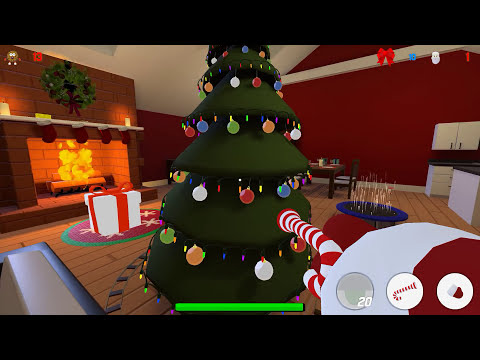 I WILL EAT THEM ALL! | Cookies vs Claus (w/ H2O Delirious, Ohmwrecker, & Gorillaphent) Screenshot 2
