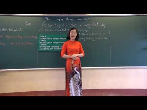 Toán 4 - Tìm số trung bình cộng - Đặng Thị Lưu - Trường TH Bình Thuận