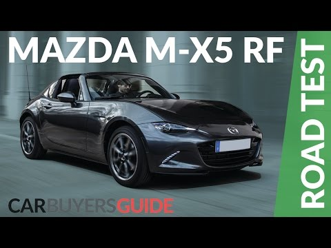 Mazda MX-5 RF 2017 Review